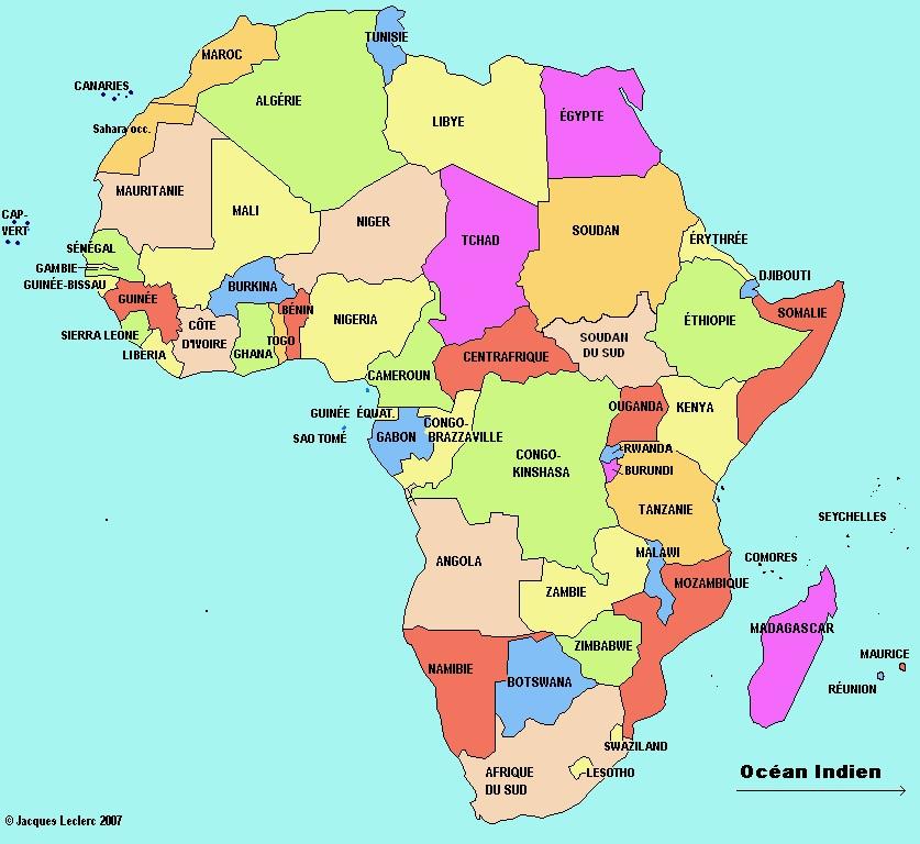 Carte Afrique Langue.Geopolitique De L Afrique Geopolitika Par Jean Pierre Arrignon